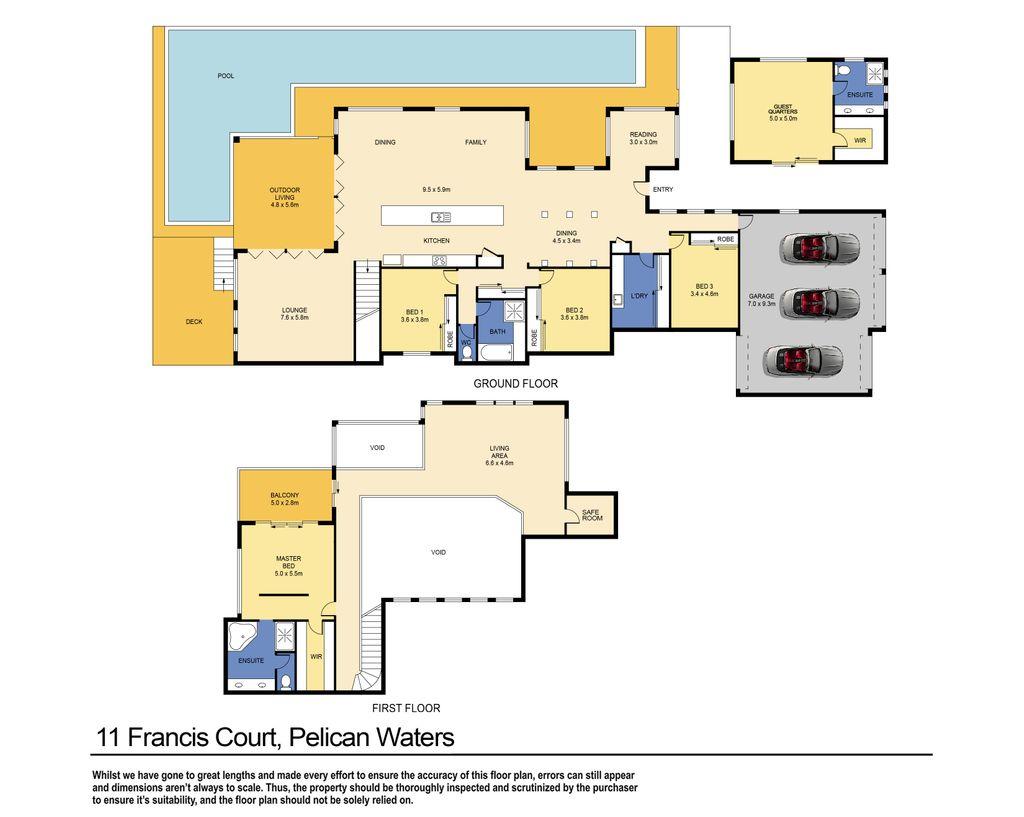 House Sold 11 Francis Court Pelican Waters Avondale Caravan Wiring Diagram
